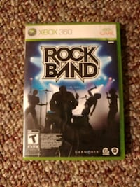 Rock Band Xbox 360 game case Tillsonburg, N4G 3S1