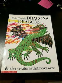 Dragons Dragons book by Eric Carle St. Augustine, 32084