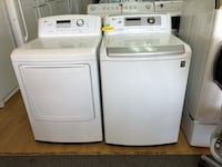 LG white washer and dryer set  Woodbridge, 22191
