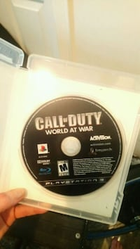 Call of Duty Black Ops 2 PS3 game disc Vancouver