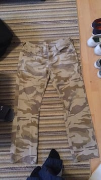 brown and gray camouflage pants Edmonton, T6T 1X3
