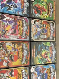 Power Rangers DVD Games New York, 10314