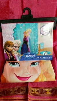 Frozen Shower Curtain  Manor, 78653