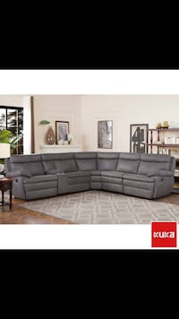 Kuka 6-piece Fabric Sectional Houston, 77489