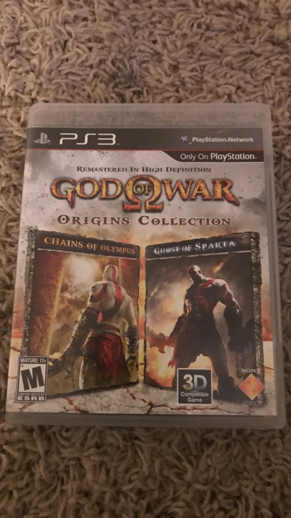 Used God of War PS3 game case for sale in Provo - letgo