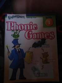 PHONIC GAMES ACTIVITY FUN BOOKLET