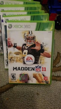 EA Sports Madden NFL 12 Xbox 360 game case Metairie, 70003