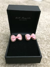 Betsy Johnson Bow Earrings Creve Coeur