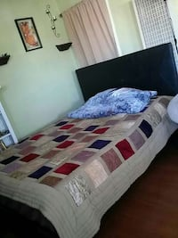 gray, red, and purple bed comforter Sacramento, 94203