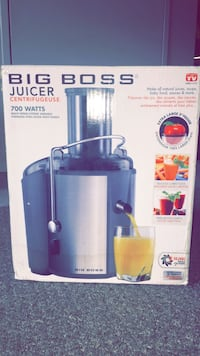 Big Boss Juicer Brand new in box  Coquitlam, V3J 1N8
