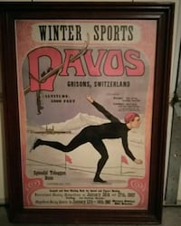 Winter Sports Framed Poster St Peters, 63376
