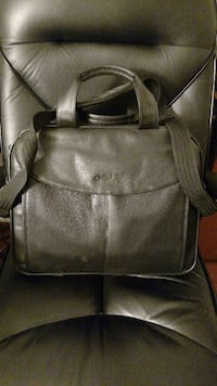 DELL Leather Computer Bag - $9 Sterling, 20166