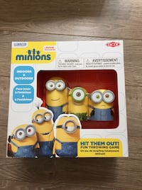 New Minion indoor or outdoor bowling game  Toronto, M4Y