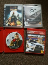 4 ps3 games but if you buy all it will be 15$ Kitchener, N2G 2Y9
