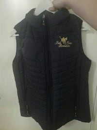 svart Polo Brew Berkshire zip-up vest Malvik, 7550