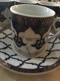 Greek/turkish coffee set (never used) Toronto, M6A 1N6