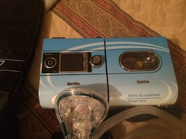 Sleep apnea machine almost new.