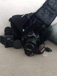 canon rebel t6 2017 with bag and lens kit  Vancouver, V6C 0B5