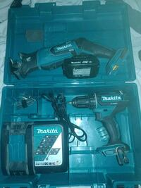 Makita sawzall and drill with battery and charger Overland Park, 66224