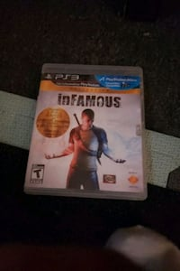 Ps3 infamous games 1 and 2