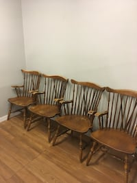 Four captain dining chairs Abbotsford, V2T 2H4