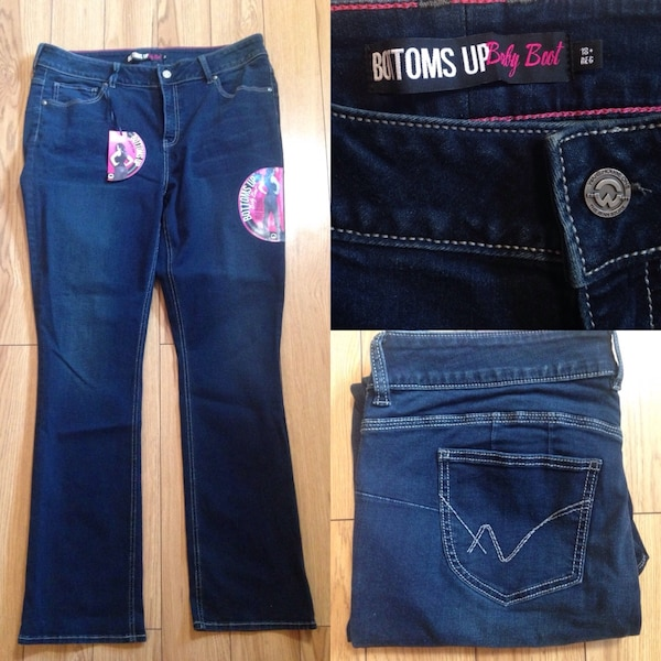 BNWT 18+ Baby Bootcut Jeans