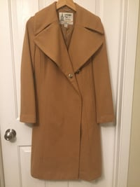 Beautiful London Fog designer dress wool coat