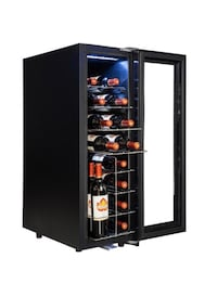Wine Cooler with Touch Panel