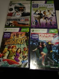four assorted Xbox 360 game cases Sylvania, 43560