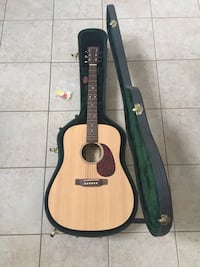 brown and black acoustic guitar Holtsville, 11742