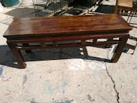 Bench fir Table 46x13x19 542 mi