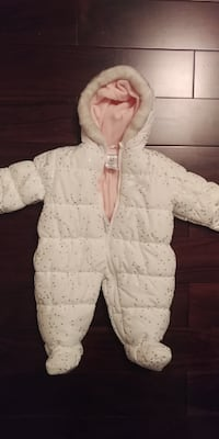 White Snow Suit 6-9m from Carter's Mississauga