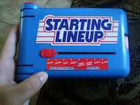 1989 starting lineup holder and 1990 proset Bakersfield, 93304