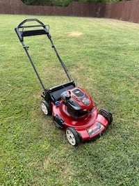 Lawnmower Toro mower bagged
