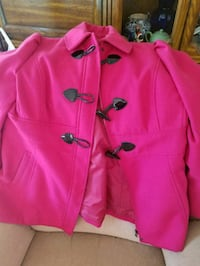 pink and black button up jacket Burton, 48529