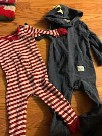 Baby boy Black and red stripe Lancaster, 93536