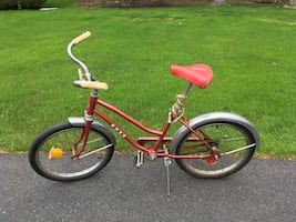 Ross Rose Red 20 inch Rare Bicycle