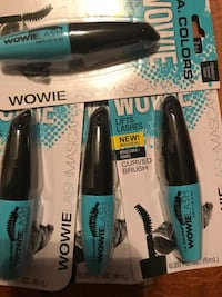 four black-and-blue WowieFlash curved brush packs