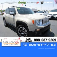 2016 Jeep Renegade Limited Los Lunas, 87031