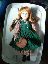 Anne of Green Gables porcelain doll Clarence-Rockland, K0A 1E0