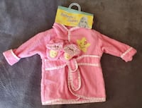 Baby Girl Bathrobe & Slippers Set    Germantown, 20874