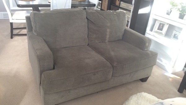 Used Grey Ashley Furniture Couch Loveseat And Recliner For Sale In