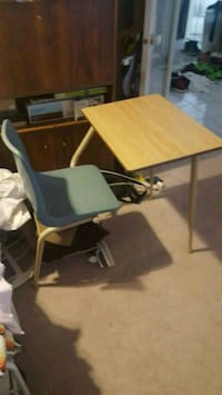 rectangular brown wooden table with four chairs Surrey, V4N 0J9