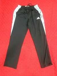 black and grey Adidas track pants Hyattsville, 20784