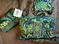 green and blue floral Vera Bradley bag Whitehall, 43213