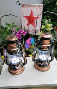 "2 Lanterns 9.5"" tall LED lights  Clearwater, 33764"