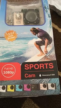 Sports cam water proof 30m.