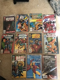 Lot of comic books
