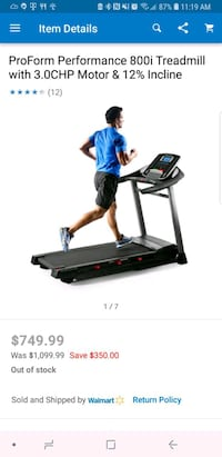 Proform treadmill new in the box Harker Heights, 76548