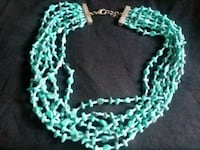 green and white beaded necklace Billings, 59101